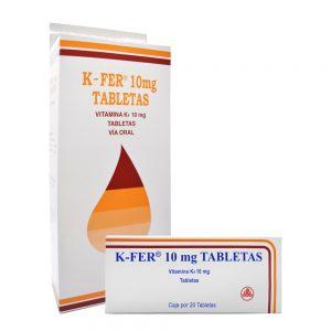 K-FER TABLETAS